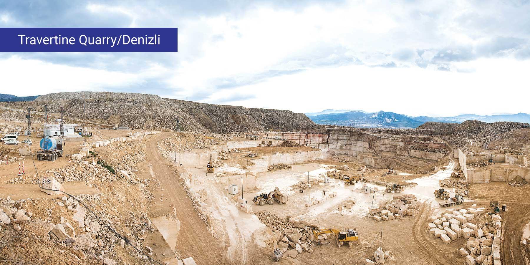 Travertine Quarry / Denizli